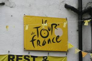 Le Tour excitement appeared to be high