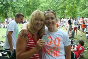 My Ride 100 2013 medal belonged to my Mum