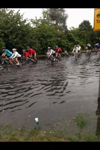 We really did ride through rivers - Prudential Ride 100 2014