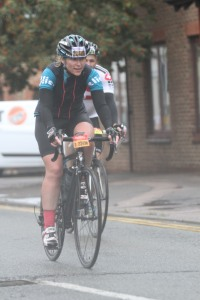Going for it - Prudential Ride 100 2014