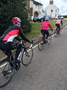 Riding up Ridgmont in sweet formation