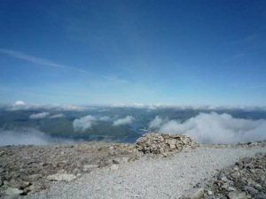 On my way to the top of Ben Nevis