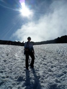 At the summit of Ben Nevis