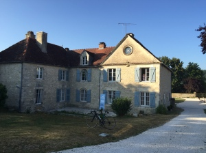 Exterior view of the beautiful Domaine Rennepont